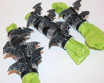 Bat Napkin Rings Set of 10