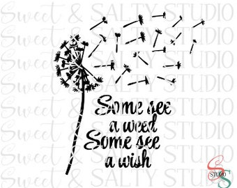 some see a weed some see a wish digital file