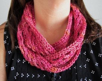 Easy Elegance Circular Scarf - PDF Crochet Pattern