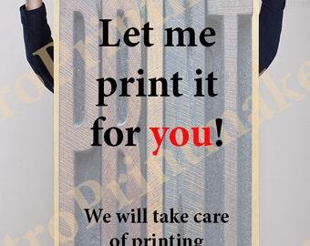 "One Custom 27"" x 40"" Printing Order   Poster PRINTING   Custom Printing   Poster   Sign Printing   Tradeshow Printing"