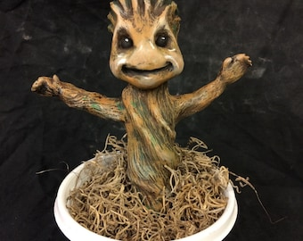 Happy Sapling Statuette