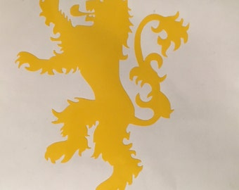 Game of Thrones House Lannister Vinyl Decal