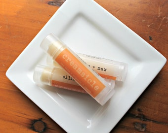 Creamsicle Organic Vegan Lip Balm .15oz Tube