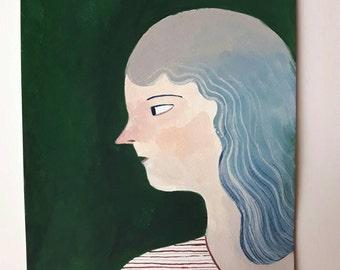 SALE Viola dream - Original artwork