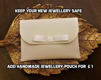 Jewellery pouch small bag storage holder minimalist wallet