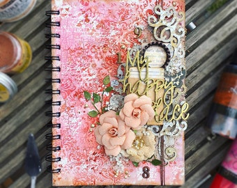 Mixed Media Altered Notebook