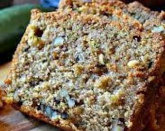 Zucchini Walnut Bread