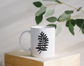 Fern Camping Mug - Campfire Mug - Camping Mug - Statement Mug - Christmas Gift - Gift for Her
