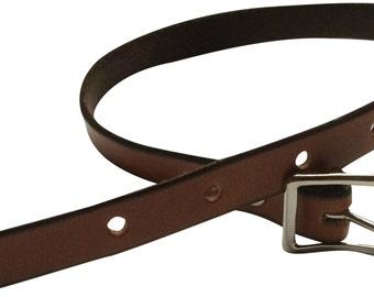 Barrel Bag Installation Leather Belt