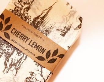 Cherry Lemonade Double Butter Handmade Bar Soap