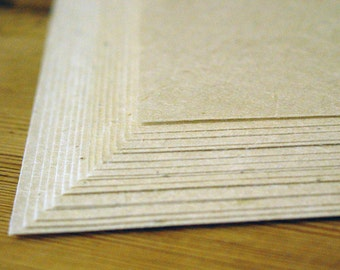 "Printer Safe Seed Paper light weight (20lb.) 8.5"" x 11"" pack of 25 handmade paper sheets"