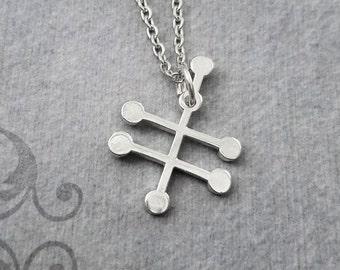 Vodka Molecule Necklace Vodka Jewelry Chemistry Jewelry Alcohol Necklace Chemist Necklace Biochemistry Science Jewelry Alcohol Jewelry Gift
