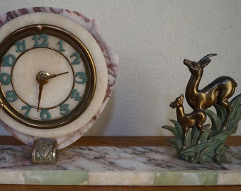 French Art Deco Mantel Clock