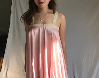 Perfect pink slip dress