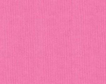 Moda Fabric Bella Solid Peony Pink 9900 91