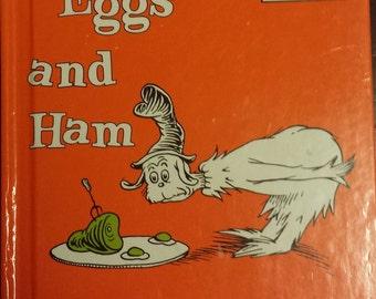 Dr. Seuss Children's Books - Green Eggs And Ham - Vintage Beginner kids Story Books - Gift Books For Kids