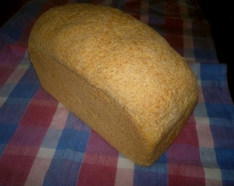 Millet Bread (gluten free and dairy free)