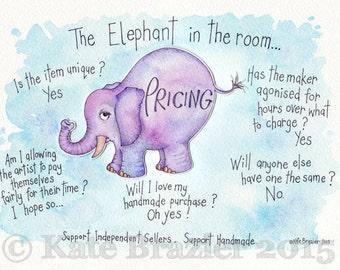 The Elephant in the Room - Signed Open Edition Print