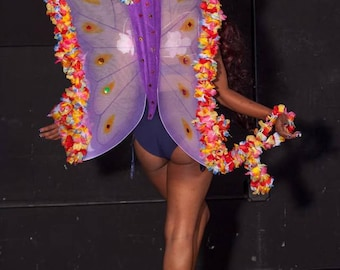 Floral Butterfly Wings #I