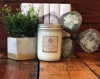 Fresh Coffee 16oz Woodwick Candle