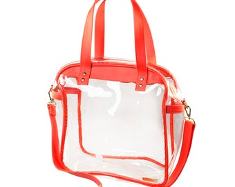 Carryall Tote - Orange