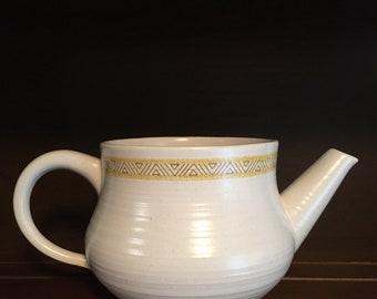Vintage Franciscan Earthenware Hacienda Tea Pot