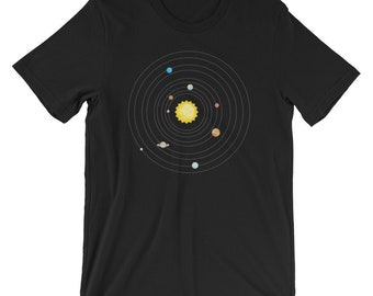 Our Solar System Science Education T-shirt