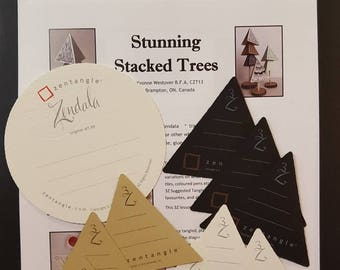 Stunning Stacked Trees - a tangled project kit