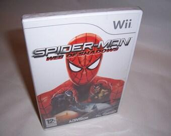 Nintendo Wii: Spiderman Web of Shadows Pal UKV New Sealed