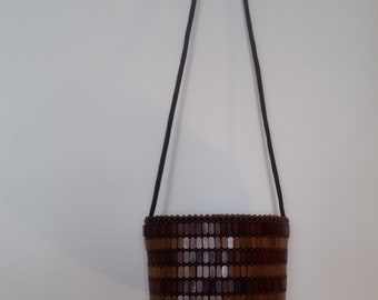 African handmade cross shoulder purse