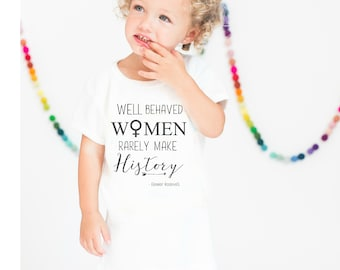 Kids Shirt, Womens Rights Shirt, Womens March Shirt, Girls Womens Movement Shirt, Kids Clothing, Max and Mae Kids Clothing