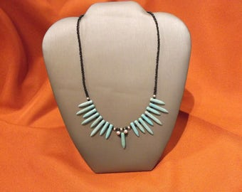 Turquoise Spear Necklace