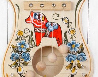 Dala Horse Door Harp