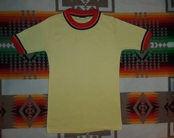 70s JC Penny Ringer T Shirt Size Small