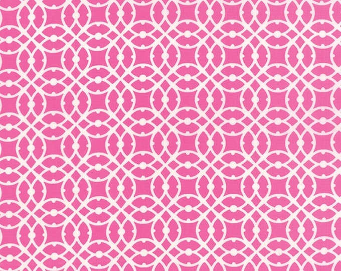 Paradiso by Kate Spain - Destination Hibiscus Pink - 1 yd