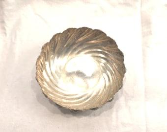Vintage Barbour Silver Company Quadruple Silver Bowl