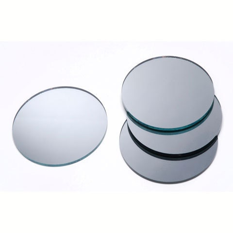 2 inch round glass craft and hobby mirrors 12 pieces. Black Bedroom Furniture Sets. Home Design Ideas