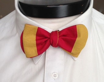 The Walt- Our disney themed bowtie in Winnie the Pooh colors