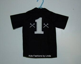 Personalized Birthday Mechanic Shirt