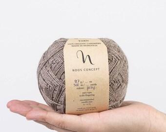 Yamá - undyed 100% pure cashmere yarn - 95g ball