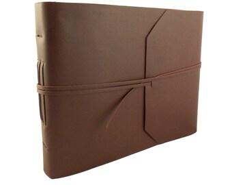 Large Photo Album, Leather Photo Album, Scrapbook Album, Leather Scrapbook, Rustic Scrapbook, Memory Book, Vintage Photo Album, Picture Book