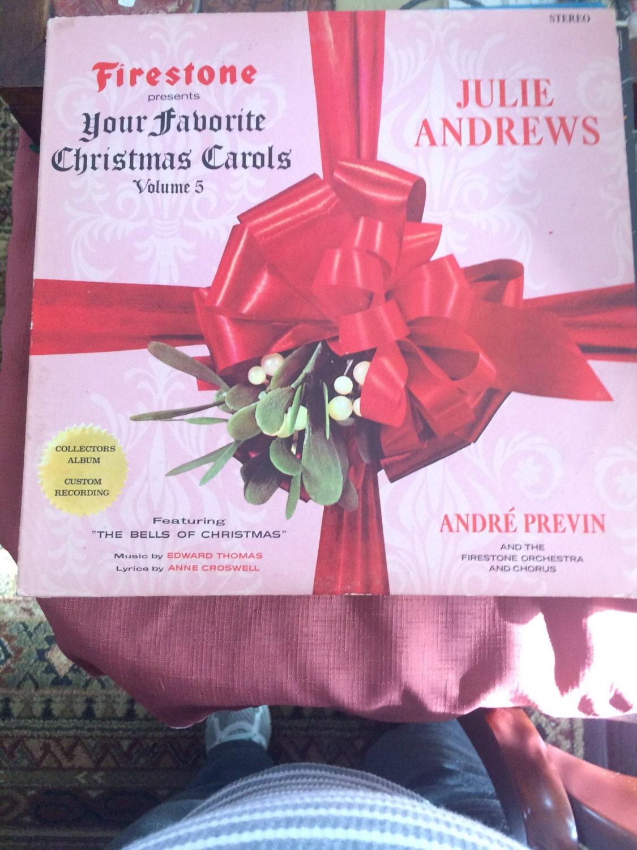 Vintage Julie Andrews Christmas Carols 1963