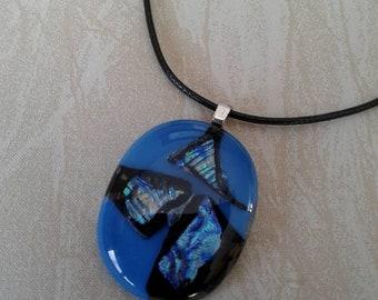 Glass Dicroic  Necklace