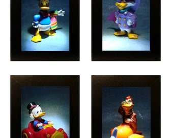 """DuckTales Toy Photos 4"""" x 6"""" Singles or Set"""