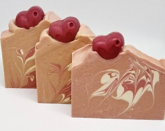 Handmade Cinnamon Soap Limited edition Valentine's Day