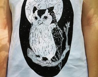 Owl Tank Top (women)
