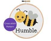 Bee Humble Cross Stitch P...