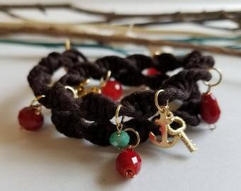Double woven bracelet