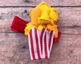 Popcorn Sculpture Hair Bow