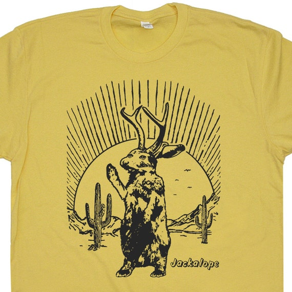 Jackalope T Shirt Jackalope Shirt Desert Scene Shirts Cool
